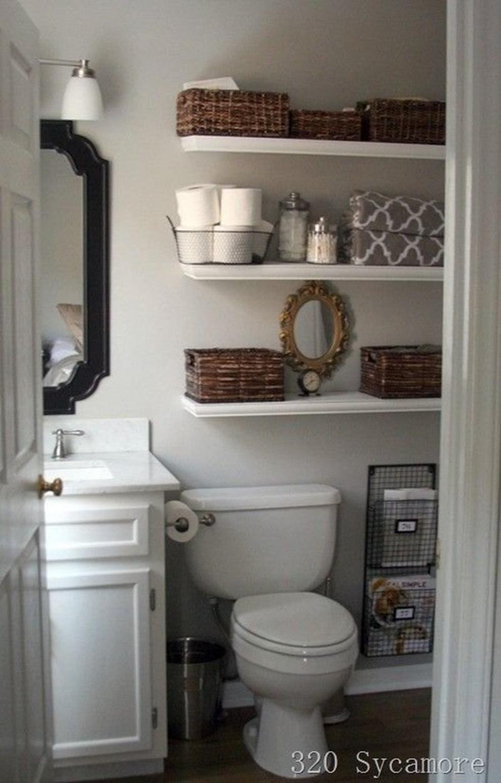 tiny half bathroom ideas