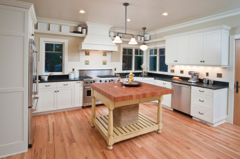 kitchen dimensions with island