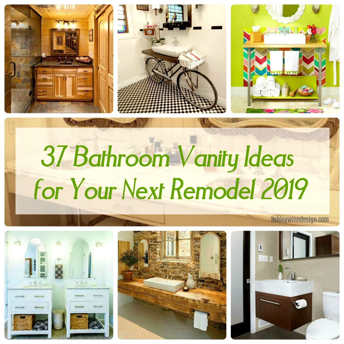 37 Bathroom Vanity Ideas For Your Next Remodel