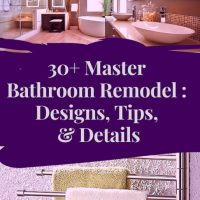 30+ Master Bathroom Remodel Ideas : Designs, Tips, & Details