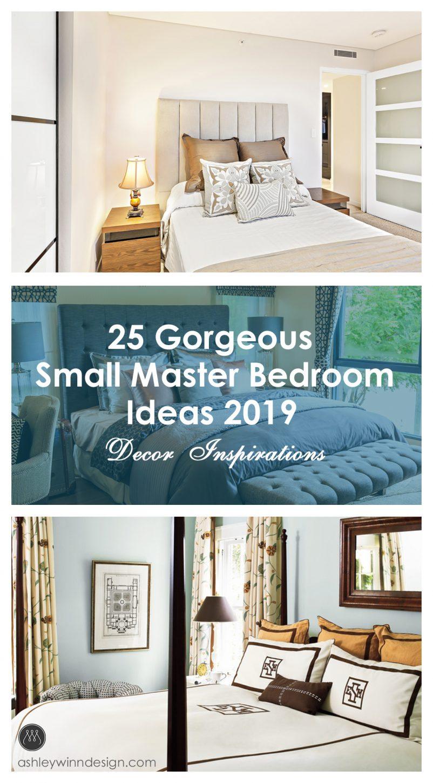 small master bedroom design