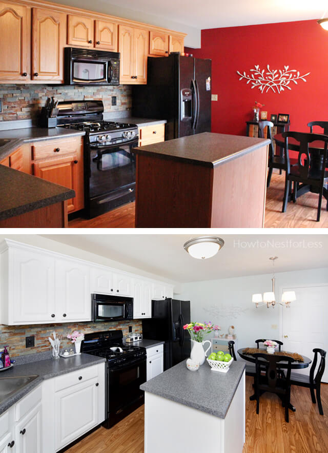 average cost of small kitchen remodel