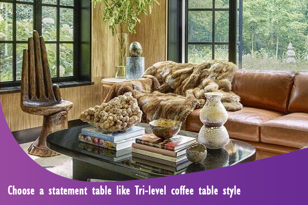 christmas decorating ideas for coffee table