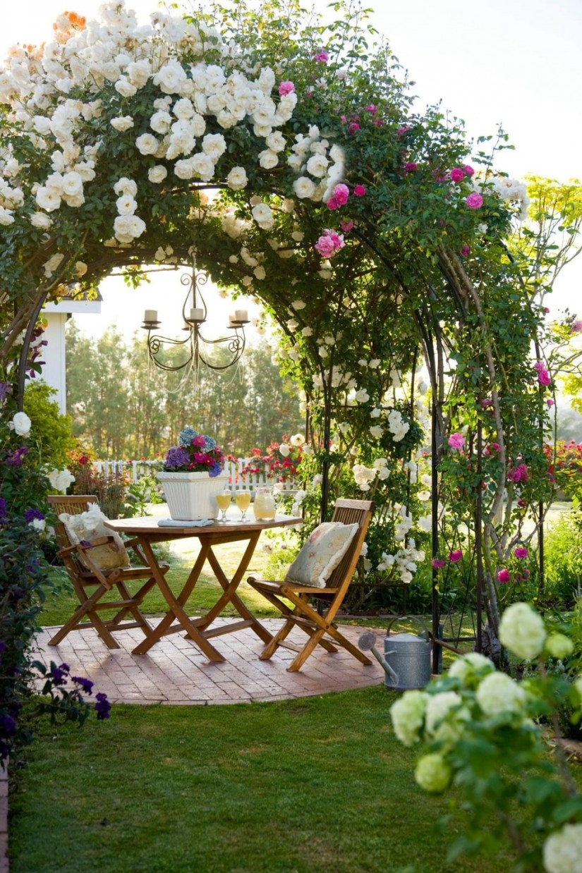 30 Beautiful Rose Garden Ideas For Your Outdoor Space Home Decor