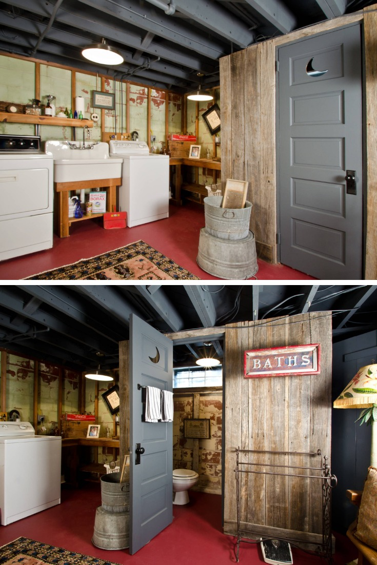 20 Functional Basement Laundry Room Ideas In 2020 Home Decor
