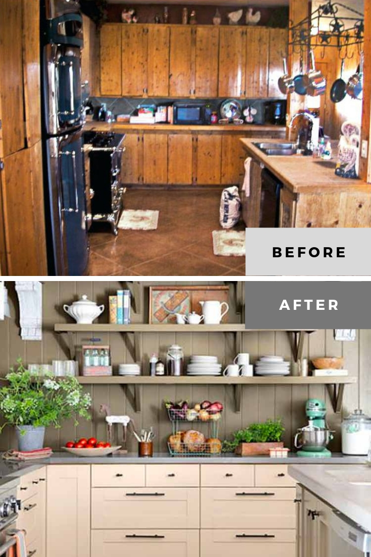 kitchen remodel photos before and after