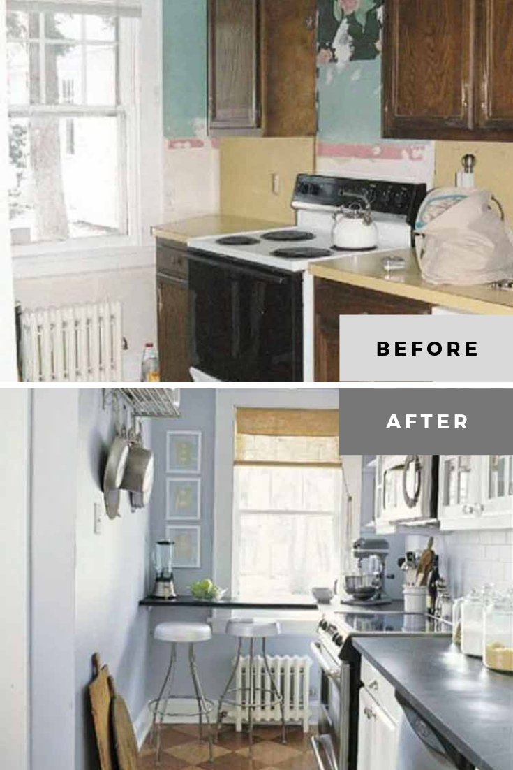 ranch kitchen remodel before and after