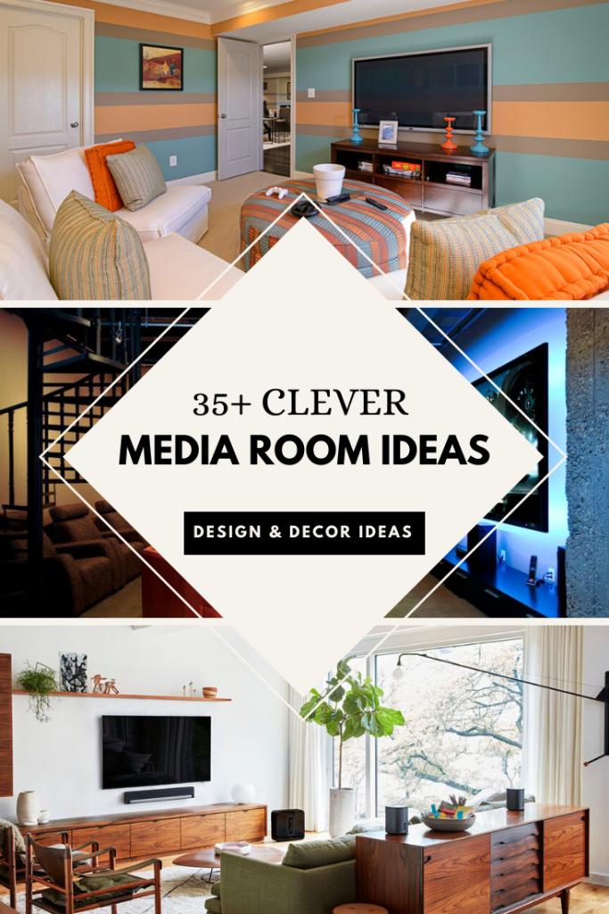 35 Clever Media Room Ideas 2020 Design Decor Ideas