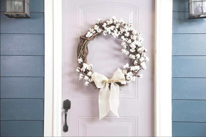 images of spring wreaths
