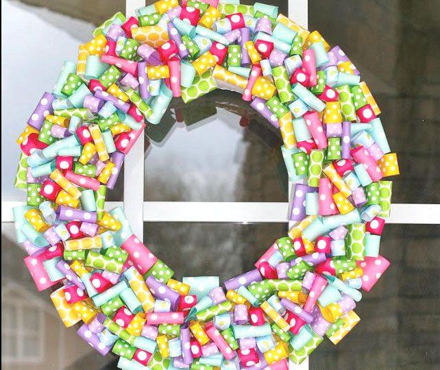 spring door wreath ideas