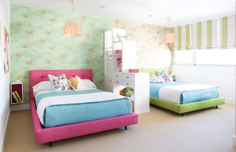 Twin Cool Kids Bedroom Theme Ideas