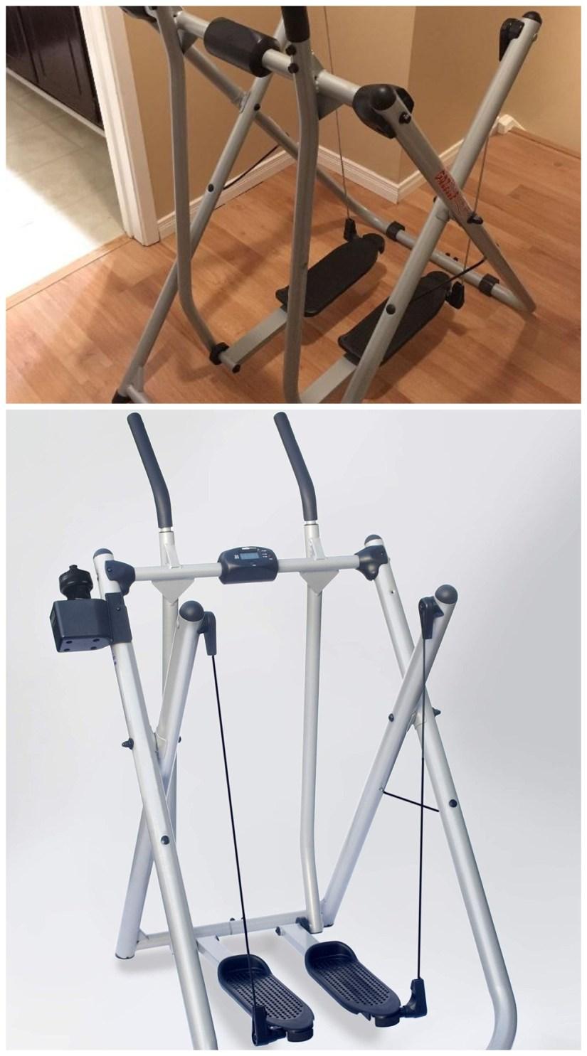 best compact home gym glider