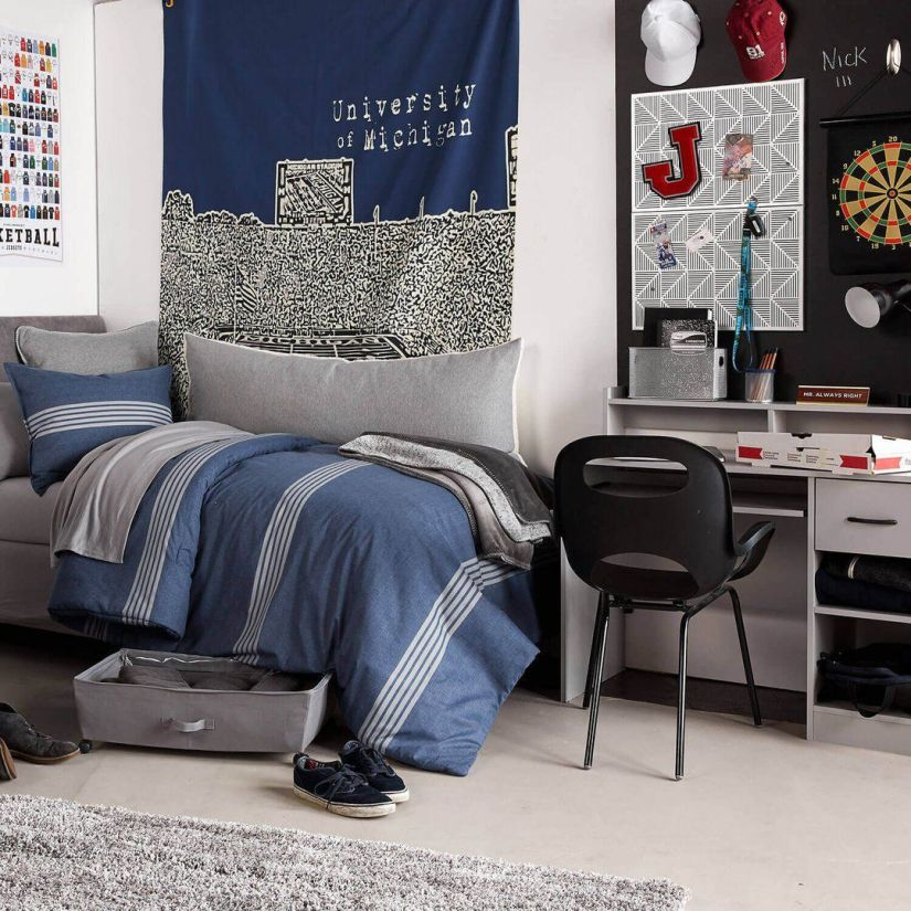 college dorm room decorating ideas for guys