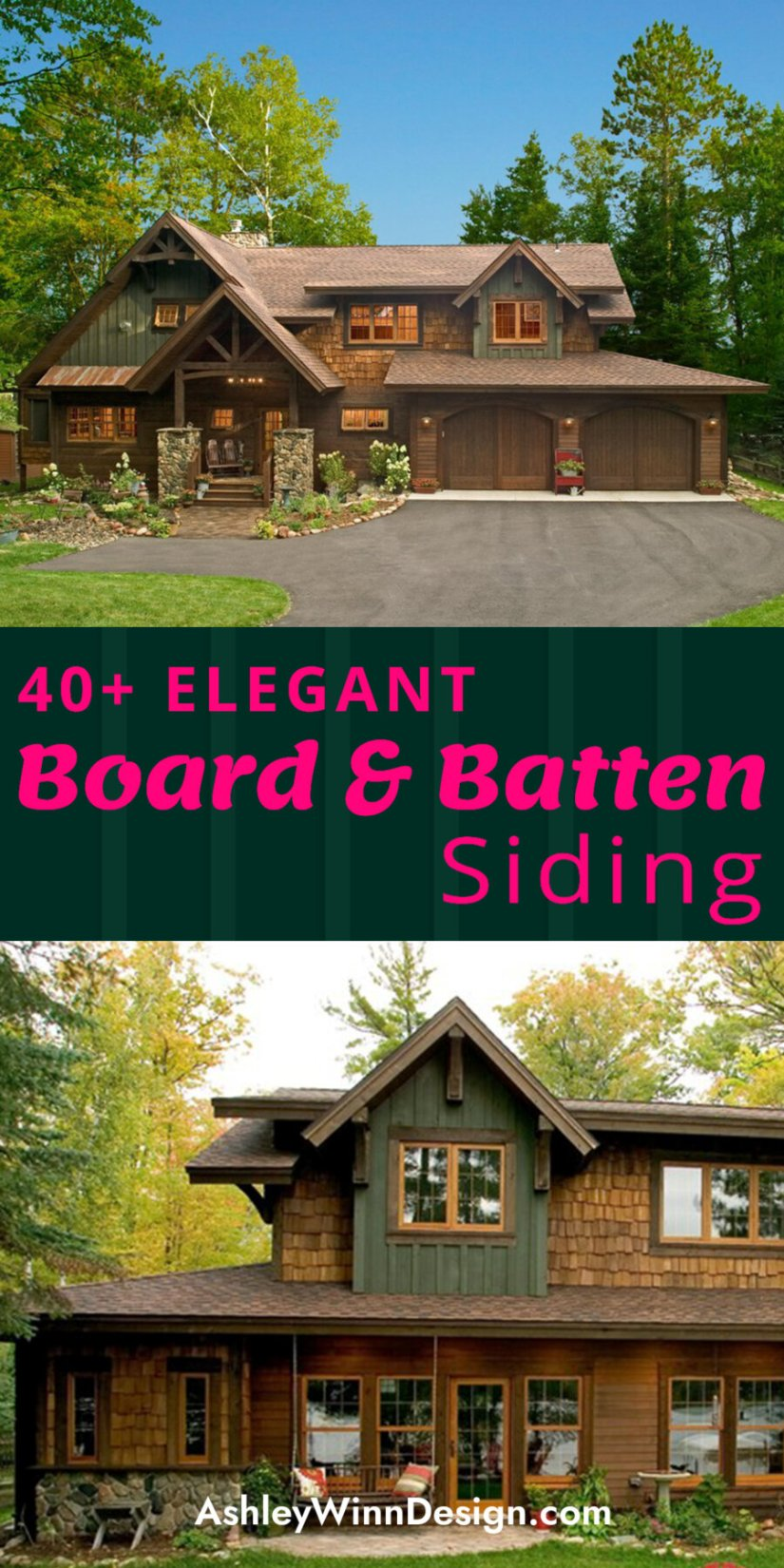 wood siding types