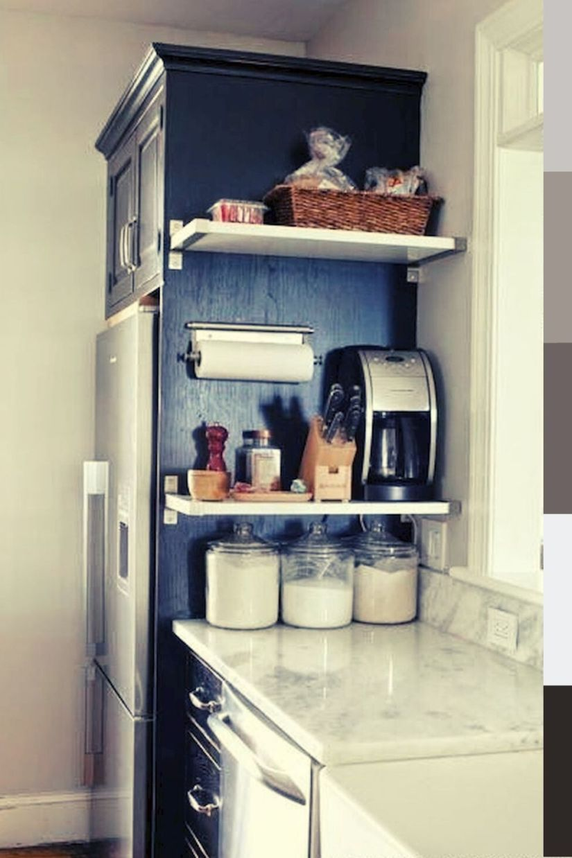 simple wall mount spice rack diy