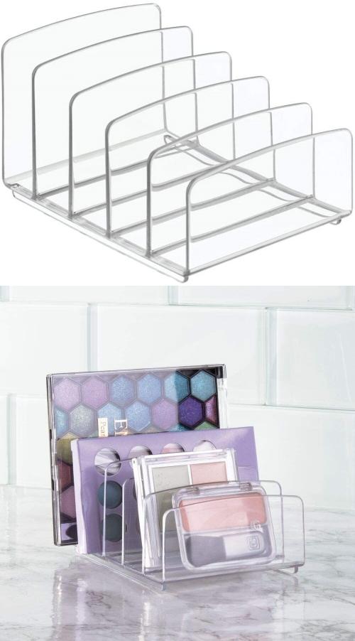makeup palette divider storage