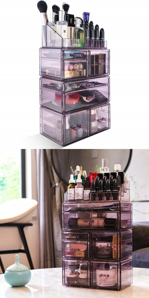 all-in-one makeup storage
