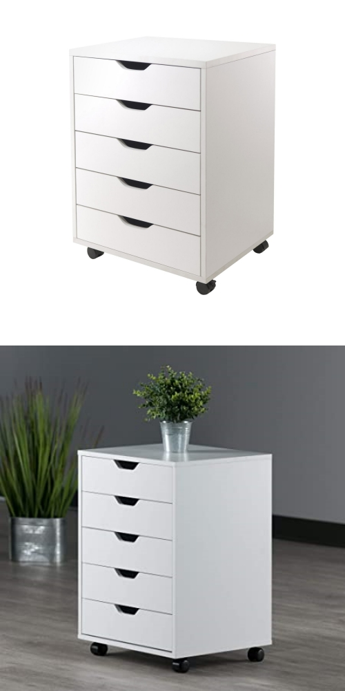 movable cosmetic drawer