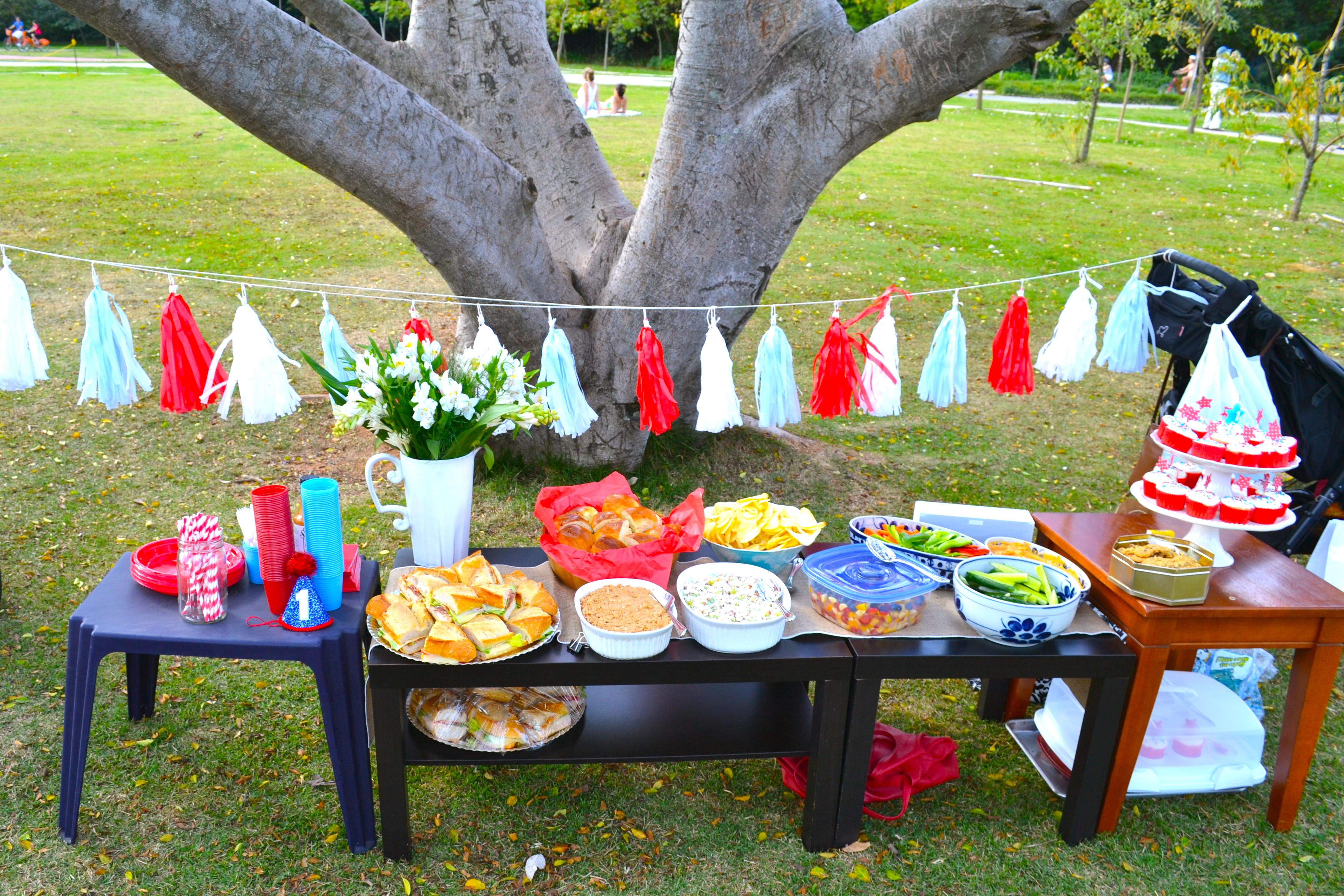 Outdoor Park Birthday Party Ideas