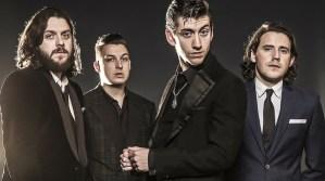 Arctic Monkeys, (left to right) Nick O'Malley, Matt Helders, Alex Turner and Jamie Cook