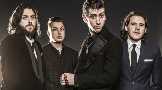 Arctic Monkeys, (left to right) Nick O'Malley, Matt Helders, Alex Turner and Jamie Cook