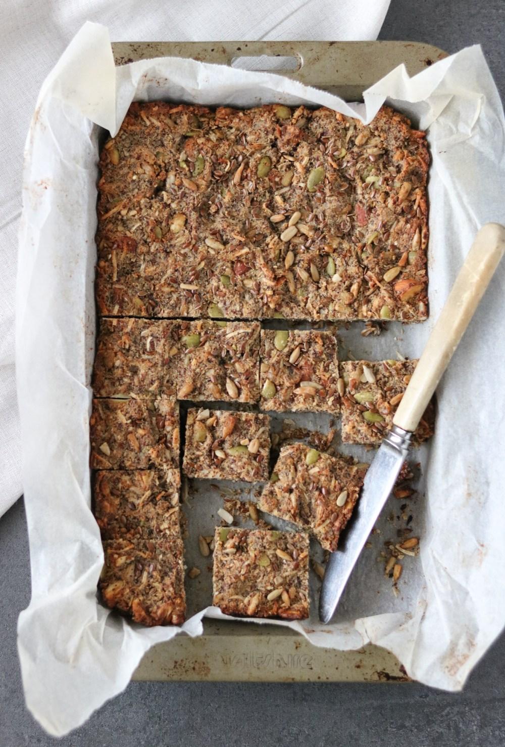 Photo: Fruit free muesli bar slice