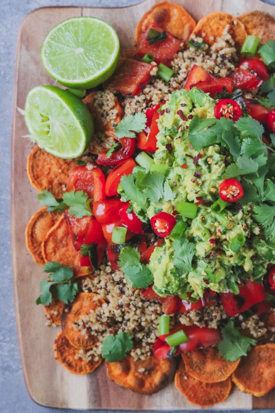 Photo: Vegan Sweet Potato Nachos