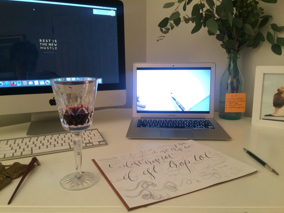 Atlanta Calligraphy Ashlyn Writes Ashlyn Carter