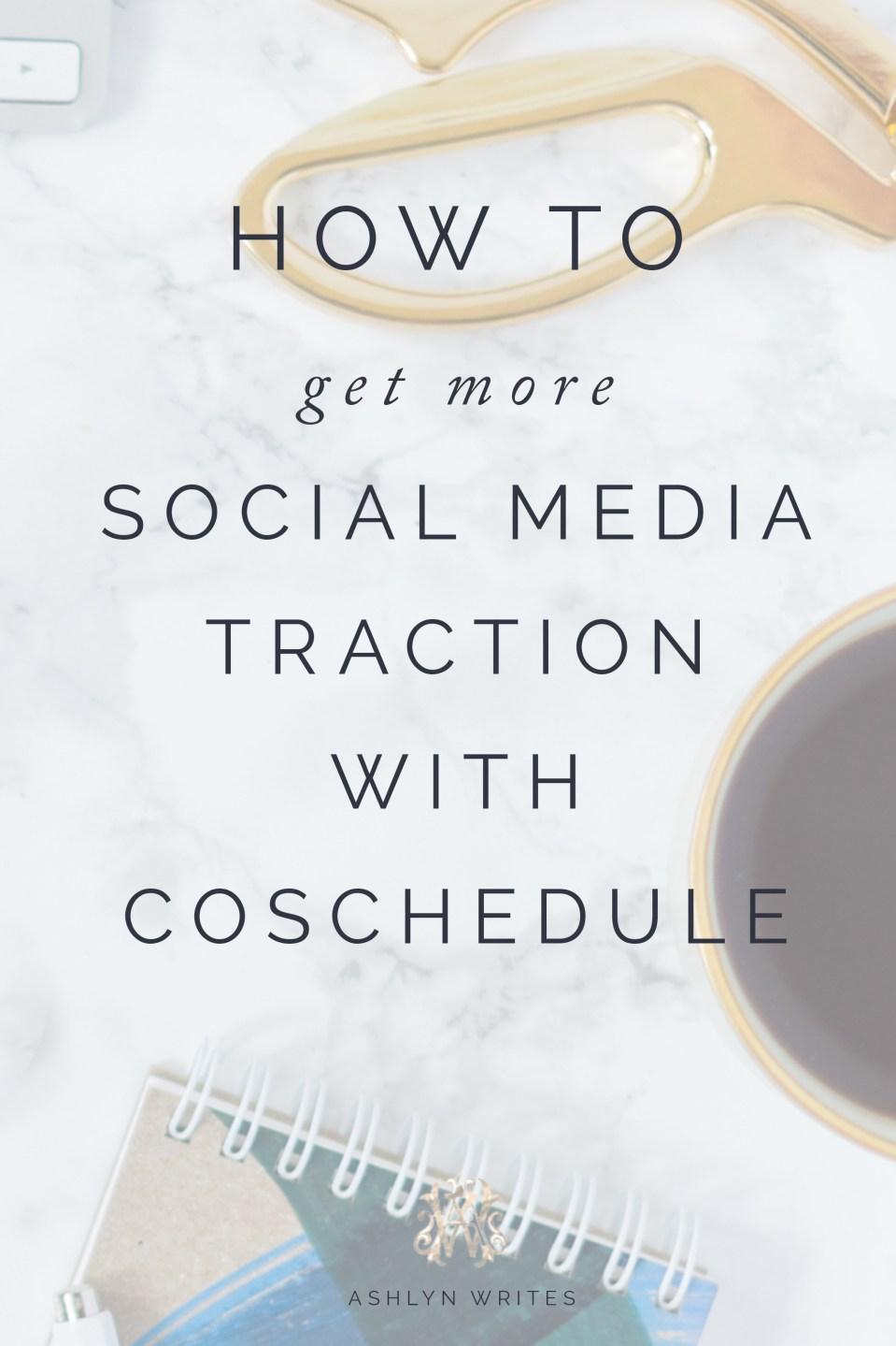 Coschedule social media tips