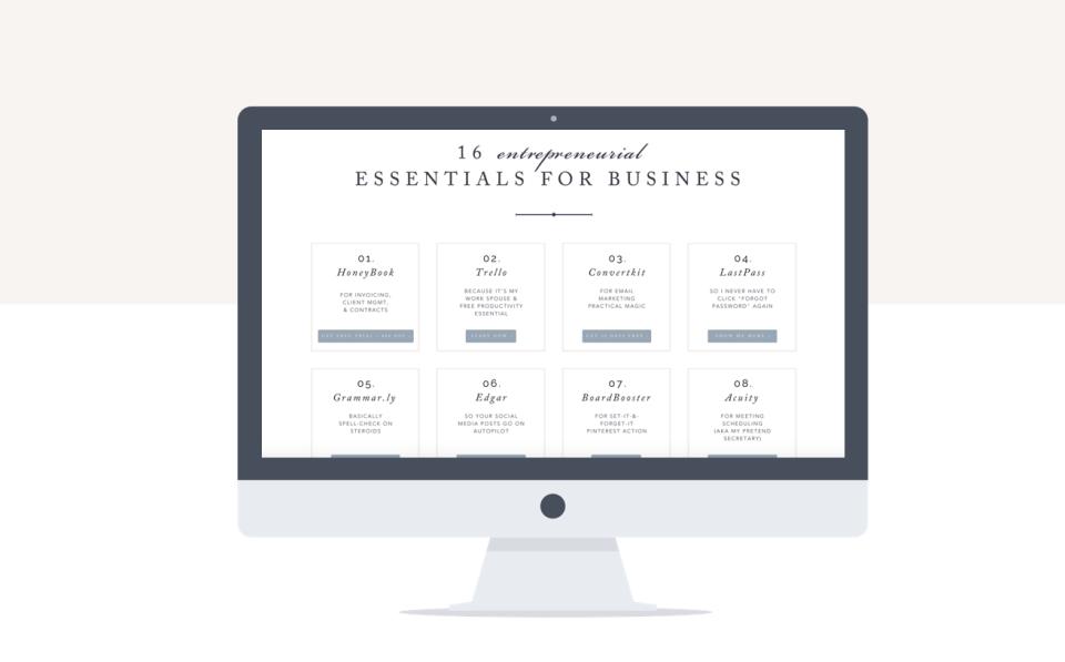 16 entrepreneurial essentials for small businesses