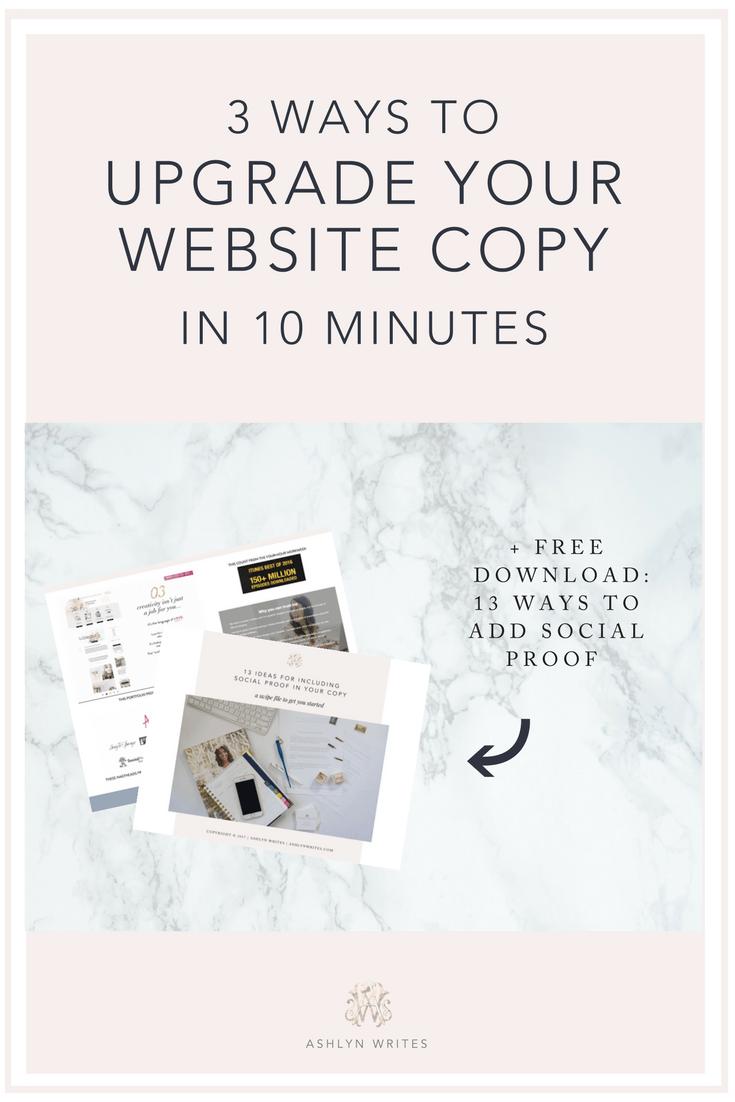 Website copywriting tips for creative entrepreneurs Ashlyn Writes