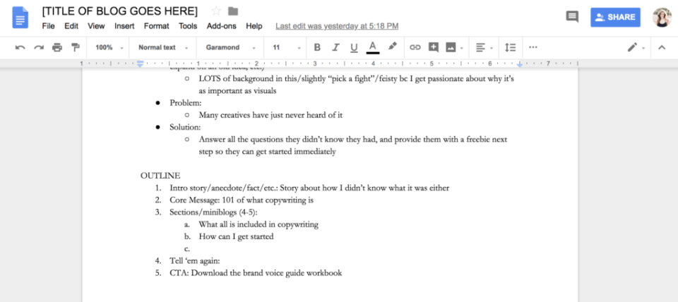 Ashlyn writes copywriting tips how to write a better blog