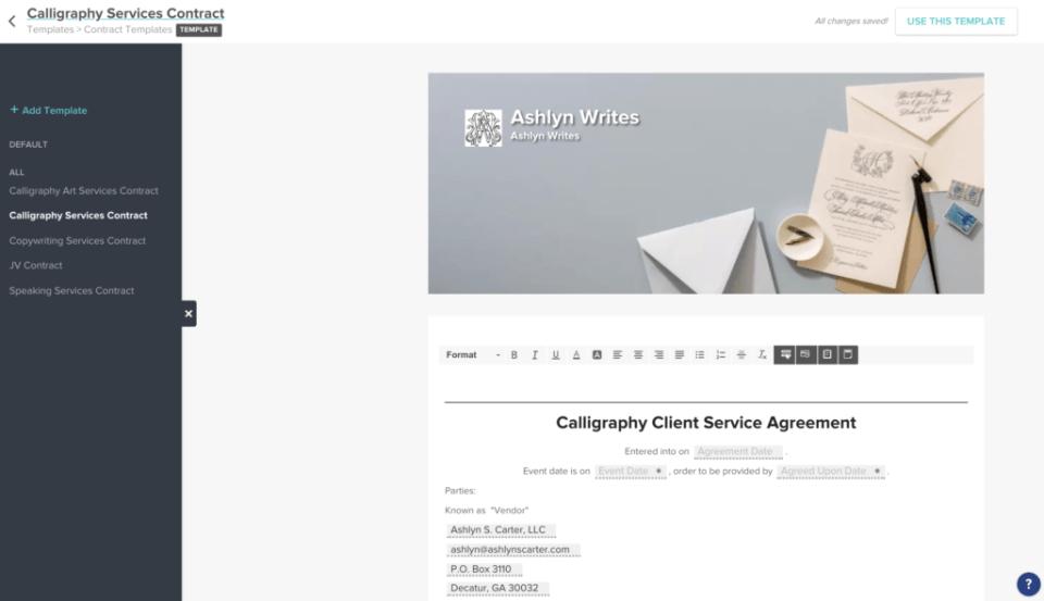 How to HoneyBook Application Workflow Ashlyn Writes