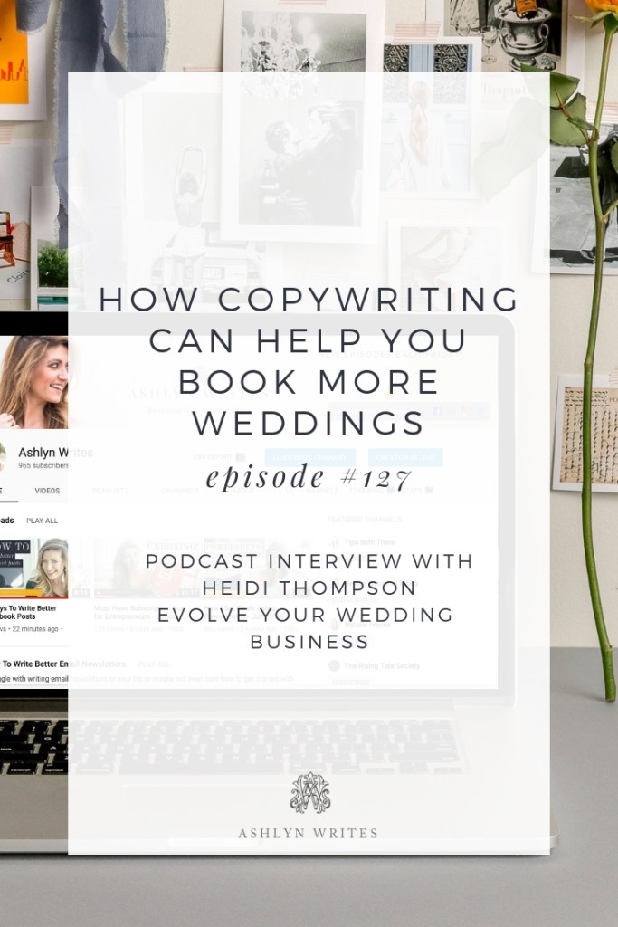 AW_EvolveYourWedding Business Podcast