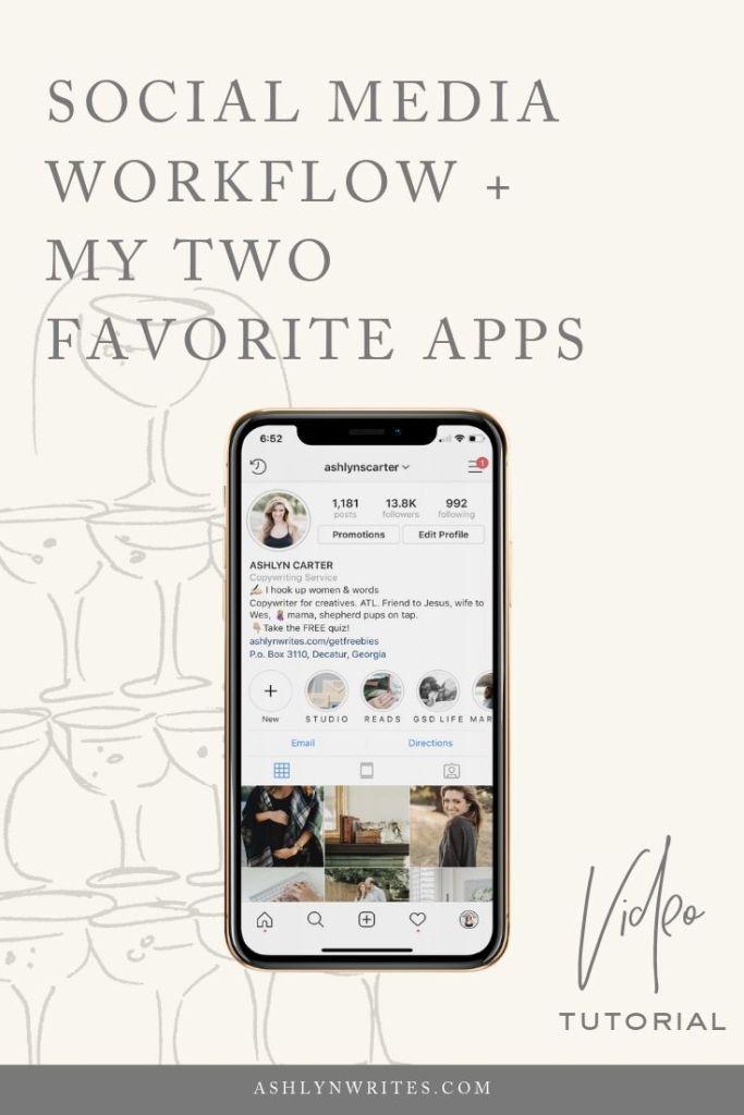 Social Media Workflow_AshynWritesCopywriting