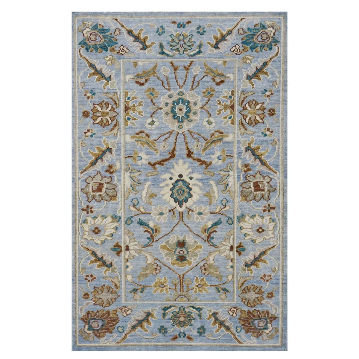 Area Rugs www.ashlyrugs.com Sultanabad Masters Collection 3 x 5 Blue