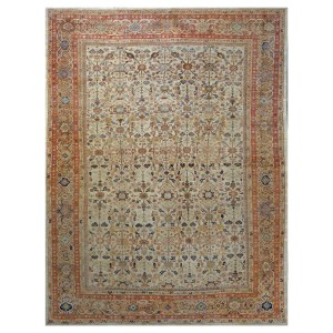 Sultanabad Antique Persian Rug