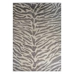 Area Rugs Modern Contemporary Wool And Silk Cloud 10 X 14 Zebra