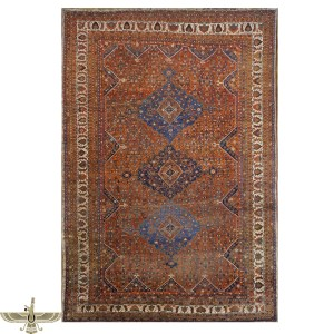 14062 Antique Rust Area Rug by Ashly Fine Rugs