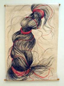 6 hair drawing 1