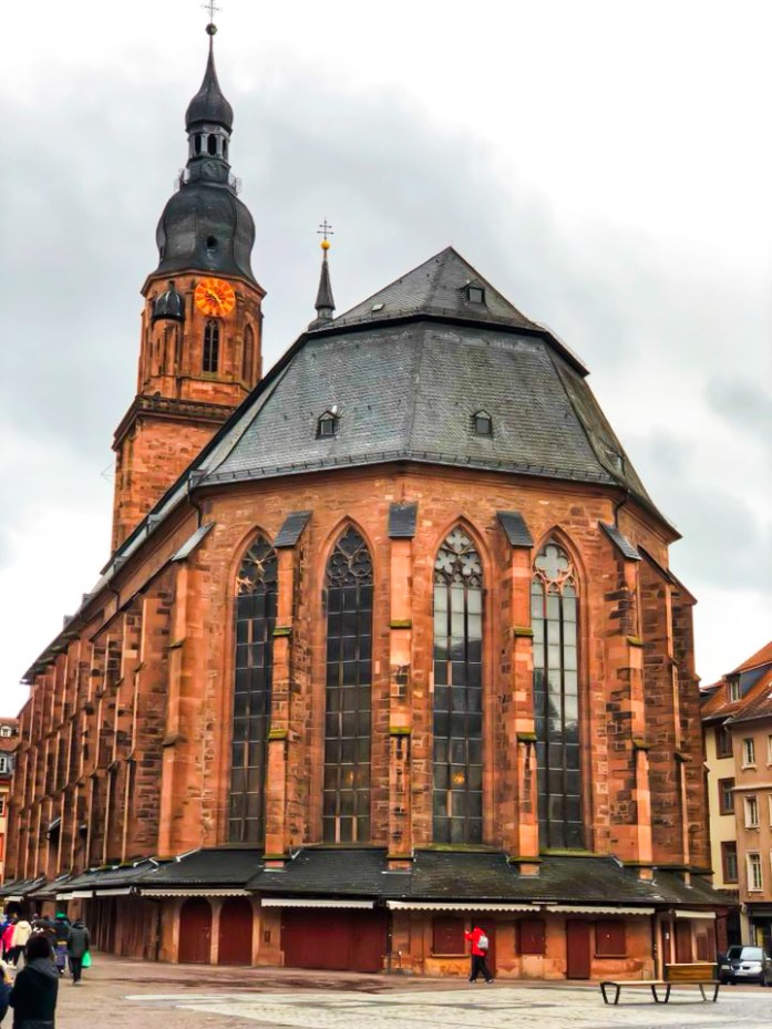 church we stopped at during our trip around Southern Germany. The church of The Holy Spirit  trip around Southern Germany