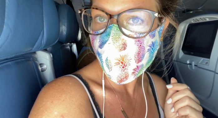 flying with delta during a pandemic