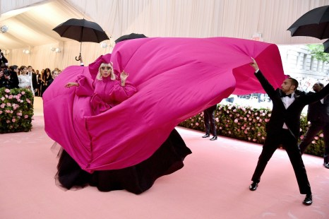 Lady Gaga in Brandon Maxwell - Met Ball 2019