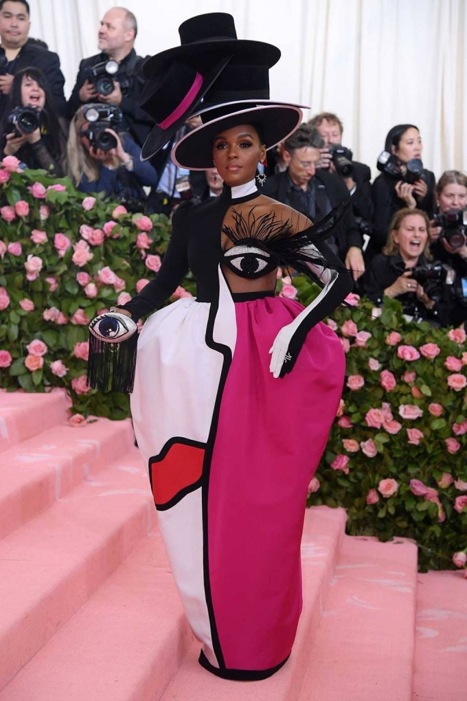 Janelle Monáe in Christian Siriano - Met Ball 2019