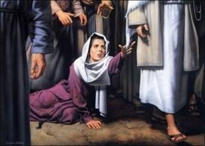 آیا طبق شریعت یهود، عیسی توسط لمس یک زن بیمار، نجس شد؟ (مرقس فصل ۵ آیات ۲۵- ۳۴)