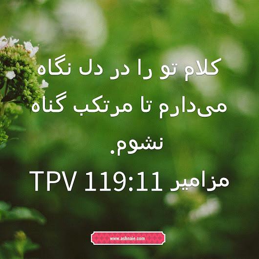 مزامیر باب ۱۱۹ آیه 11