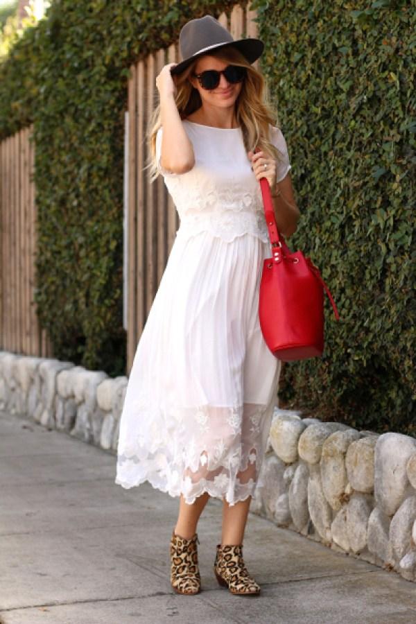 white midi dress 4