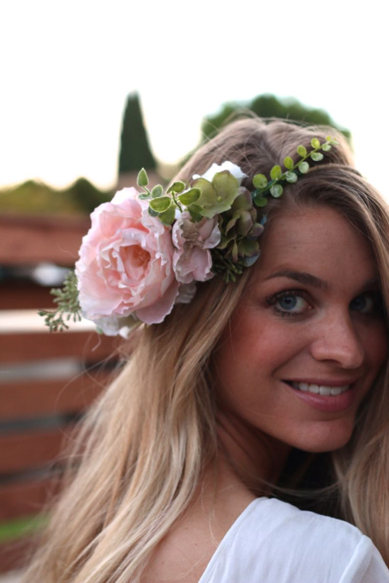 Handmade flower crowns ash n fashn flower crowns have been all the rage for a few years now they add a touch of whimsy and bohemian to any look and are basically mandatory at coachella izmirmasajfo