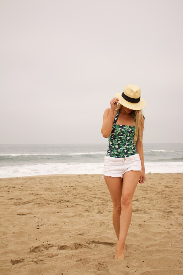 palm print one piece