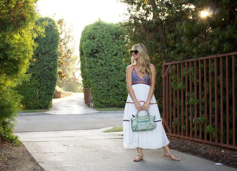 moroccan midi dress